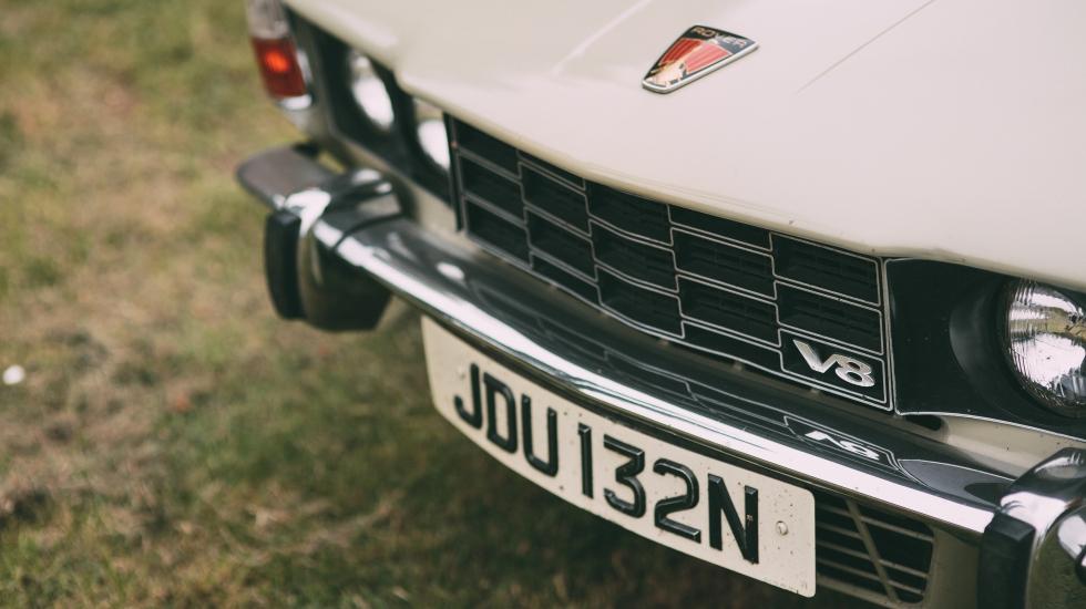 P6 Rover V8 Luna Grey